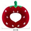 Selay Toys Çilek Figürlü Boyun Yastığı  23 Cm