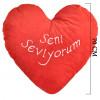 Kalpli Seni Seviyorum Yastık 65 cm 1156