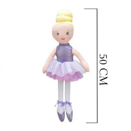 Balerin Kız 50 cm Lila