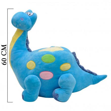 Dinozor Minder 60 cm Mavi