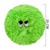 Flausy Puf Yastık 25 cm Yeşil