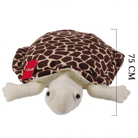Kaplumbağa Caretta 75 cm Kahverengi