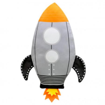 Roket Figürlü Yastık 40 cm