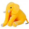 Oturan Dişli Fil 40 cm Sarı