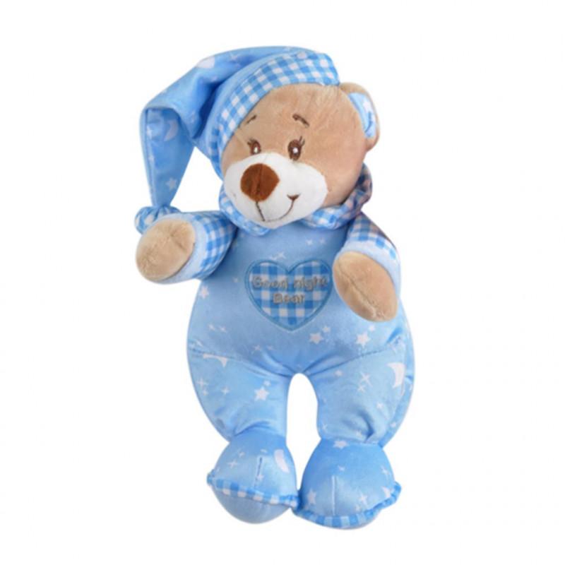 Uyku Ayıcığı 25 cm Mavi