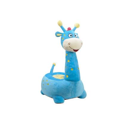 Zürafa Minder 80 cm Mavi