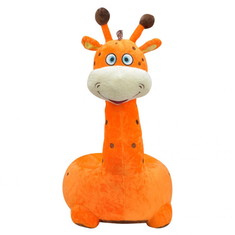 Zürafa Minder 80 cm Turuncu